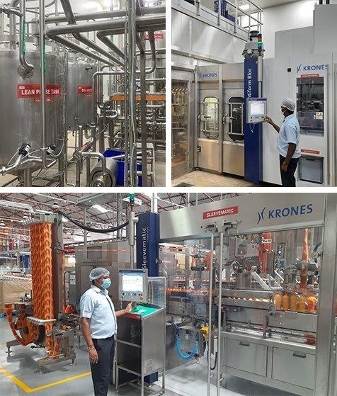 A New Hot Fill PET Juice Line at the Nemam Factory
